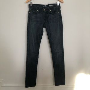 7 For All Mankind Roxanne Skinny Stretch Jeans 27